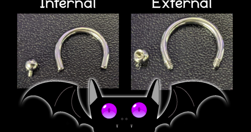 Jewellery FAQ: Internally Threaded Jewellery: What is It and What is the Difference?